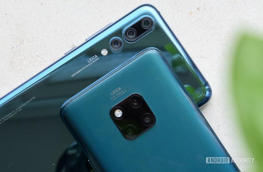 Huawei Mate 20 Pro vs P20 Pro Camera