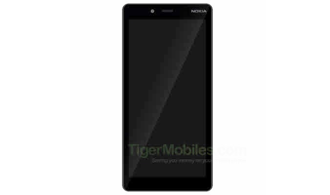 A leaked render of the Nokia 1 Plus.