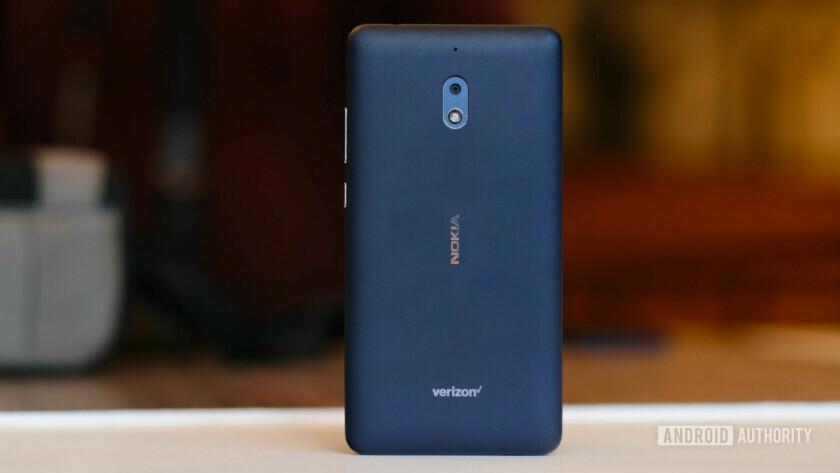 Nokia 2V rear