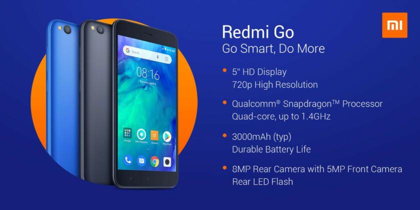The Xiaomi Redmi Go.
