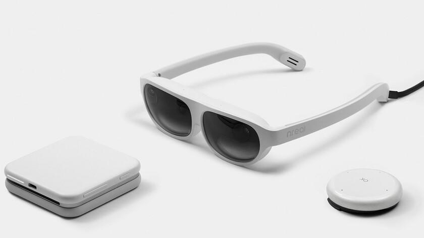 image of nReal Light glasses, aka XR Viewers
