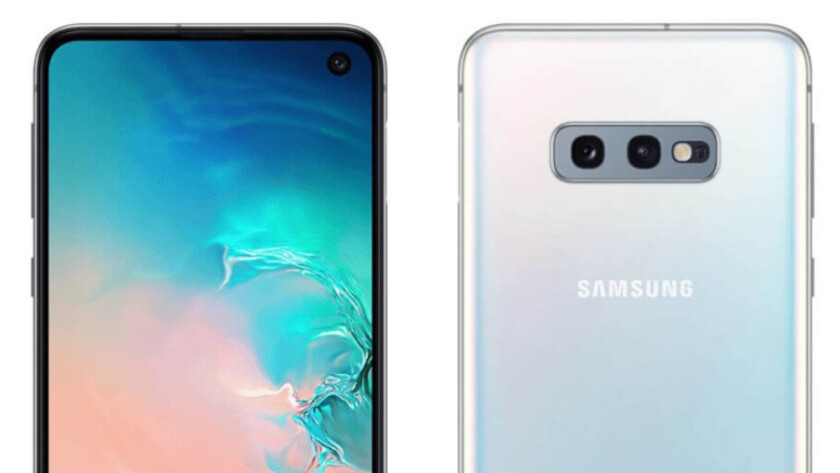 Leaked press renders of the Samsung Galaxy S10e.