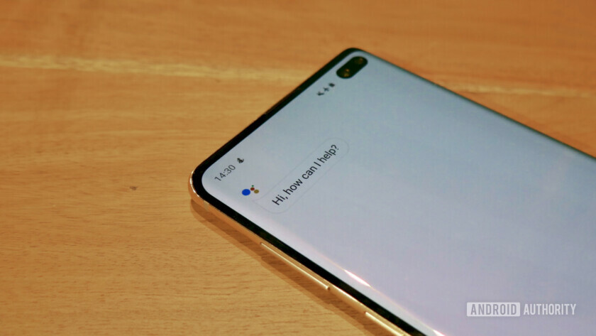 Samsung Galaxy S10 Google Assistant