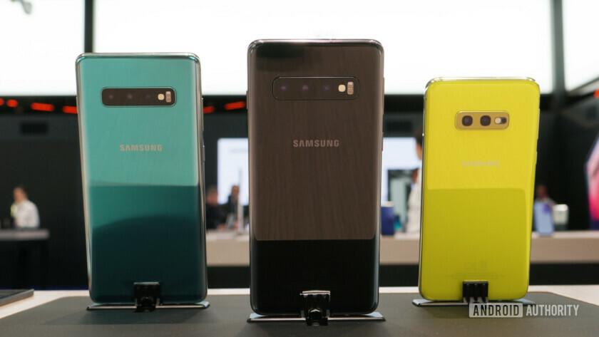 Samsung Galaxy S10, S10 Plus and S10e