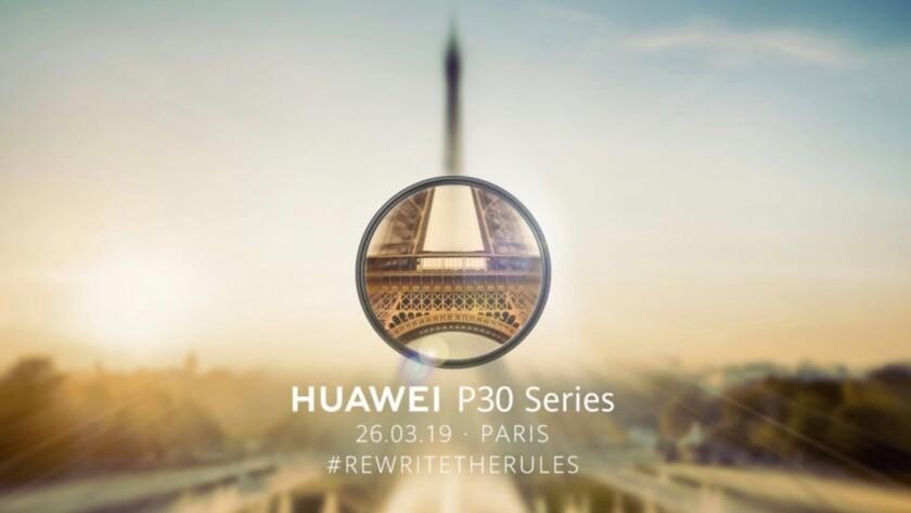 Huawei P30 Pro launch livestream teaser - Huawei P30 launch