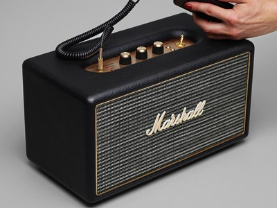 The Marshall Stanmore Bluetooth speaker is on sale for $150