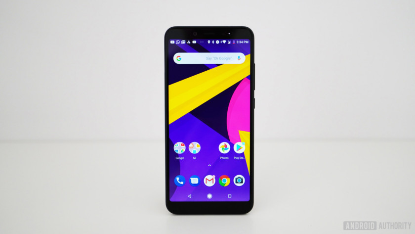 The Xiaomi Mi A2 with Android One.