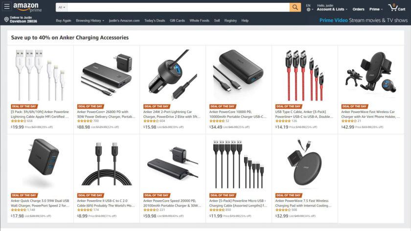 Anker Amazon Sale April 20, 2019