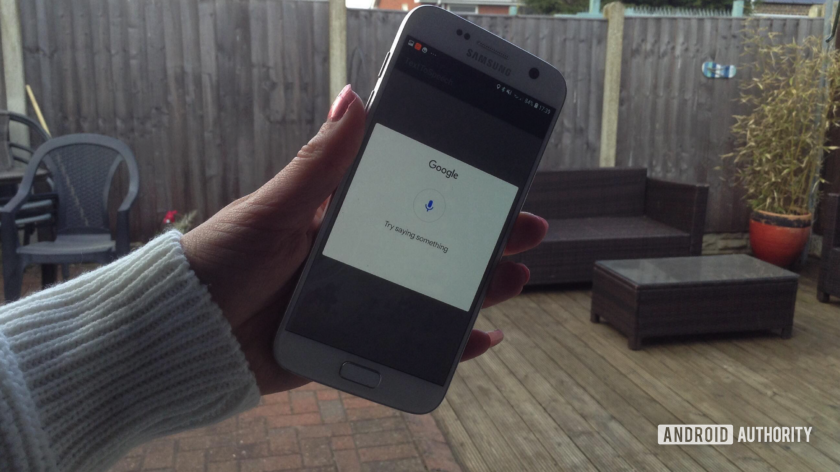 google voice search converting speech to text