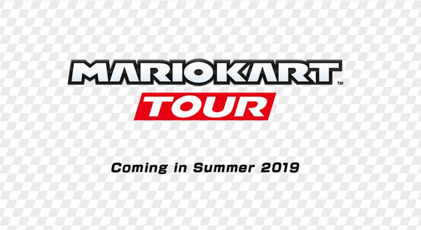 The Mario Kart Tour logo.