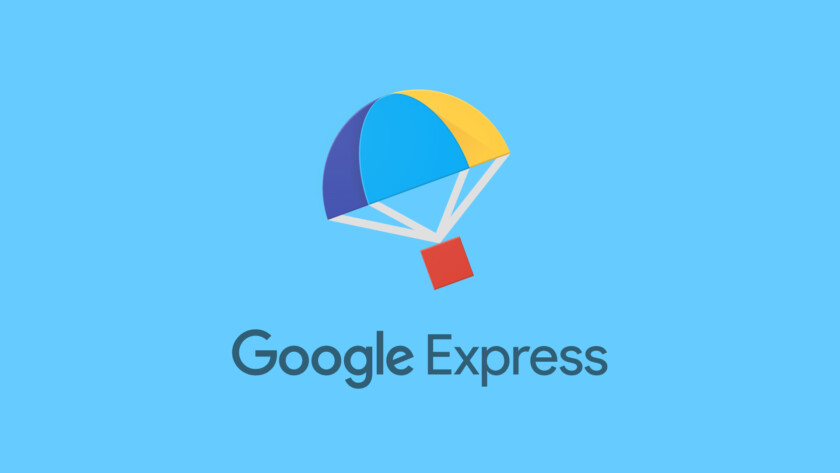 The logo for Google's shopping experience, Google Express.