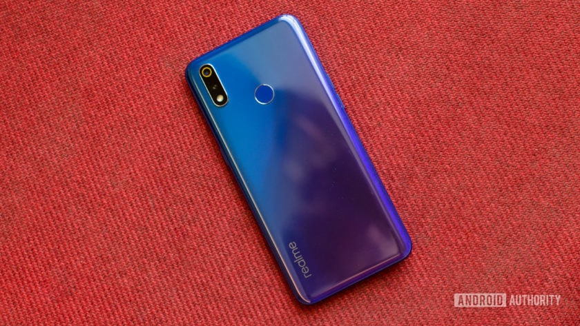 Realme 3 Pro back of the phone