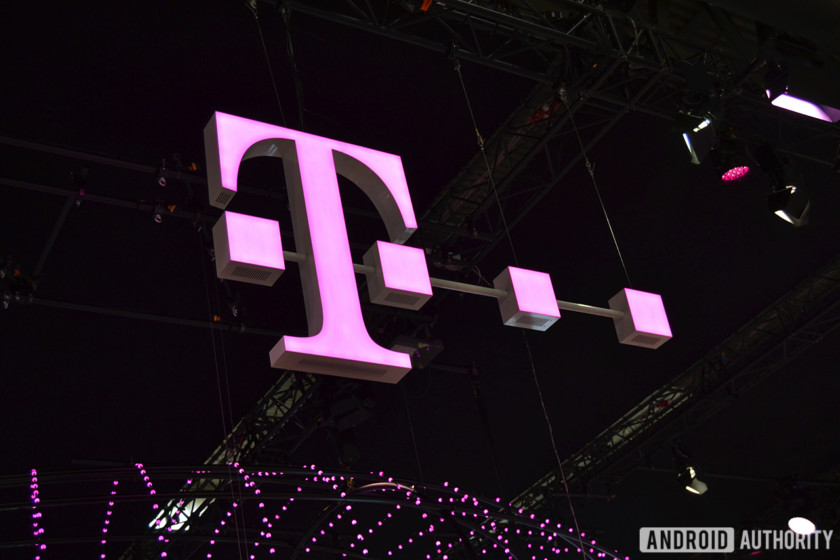 The T-Mobile logo.