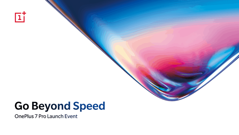 OnePlus 7 launch event poster