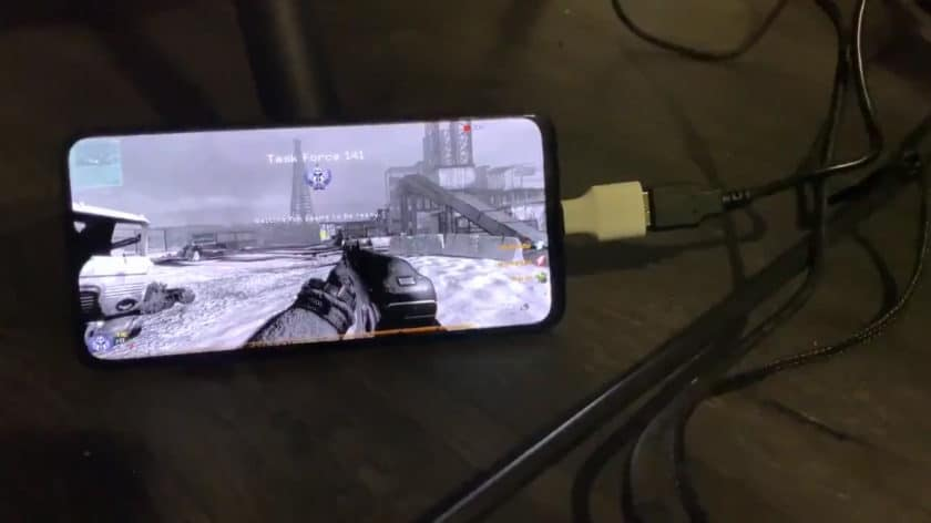 Call of Duty 4 on the OnePlus 6T.
