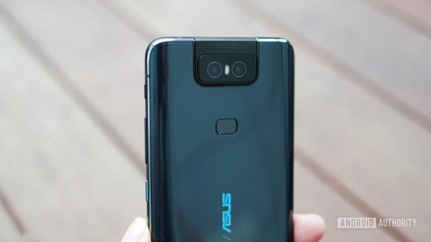 Asus Zenfone 6 rear camera fingerprint scanner
