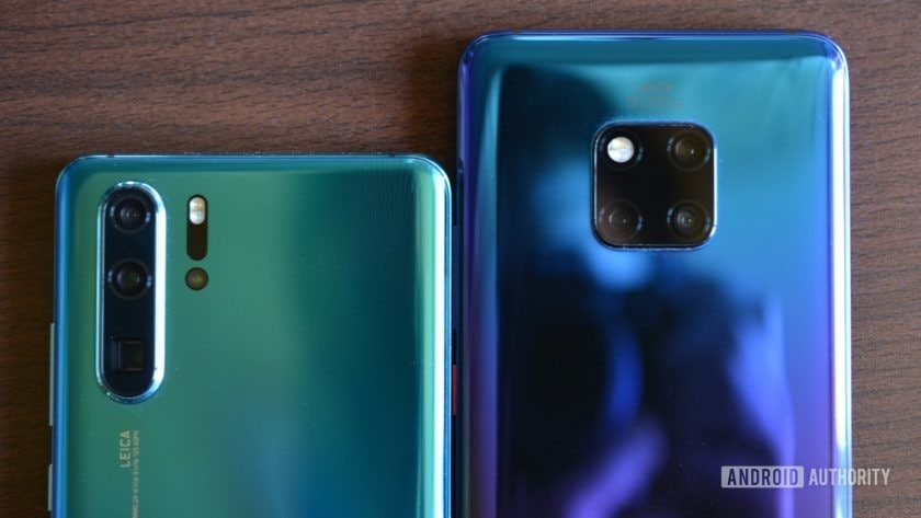 huawei p30 pro vs huawei mate 20 pro side by side cameras 3