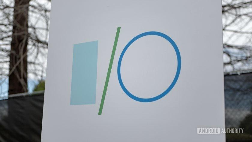 Google I/O 2019 Logo Sign