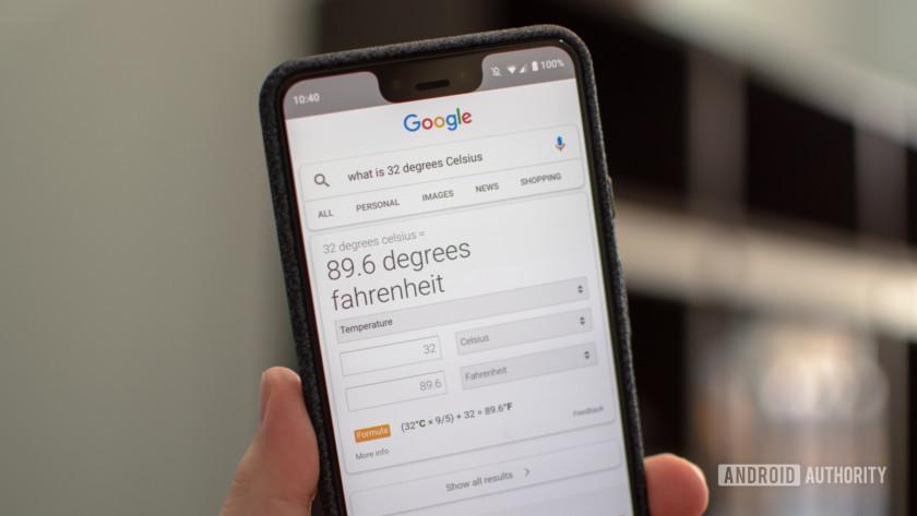 Google Search Answer
