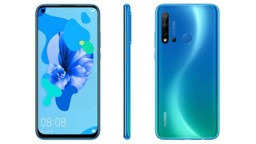 A leaked image showing the Huawei P20 Lite 2019.