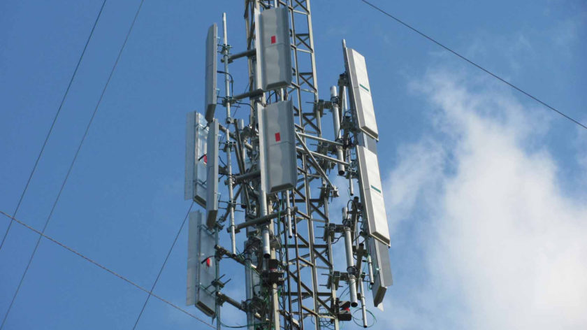 Picture of one of Gogo's internet towers
