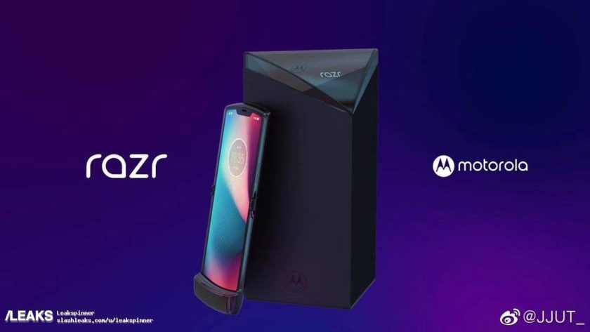 An apparent Motorola RAZR leak.