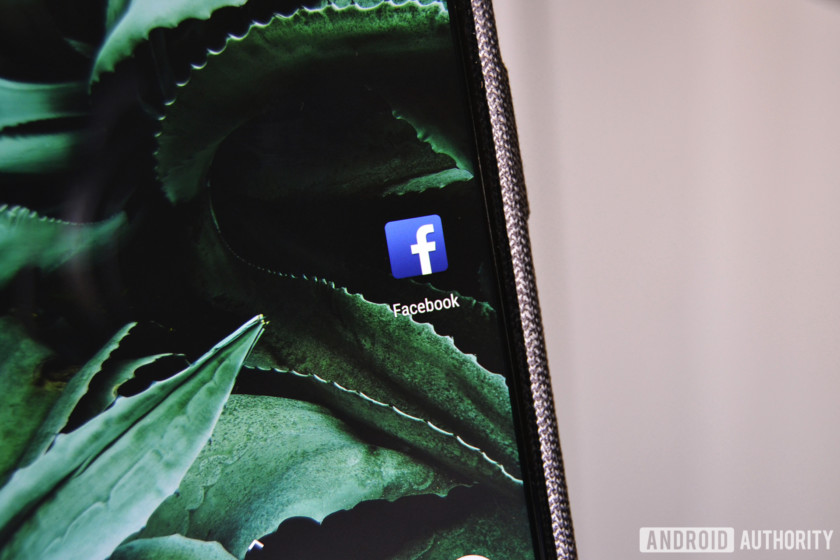 Facebook update - Facebook app on a Pixel phone