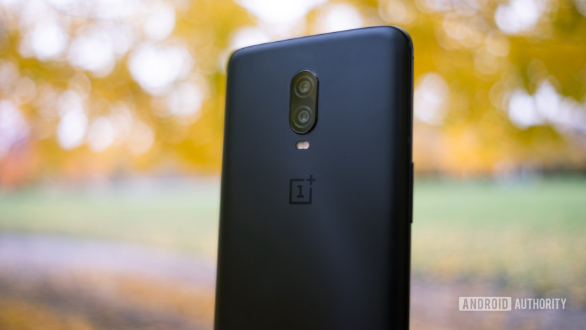 The back of the OnePlus 6T.