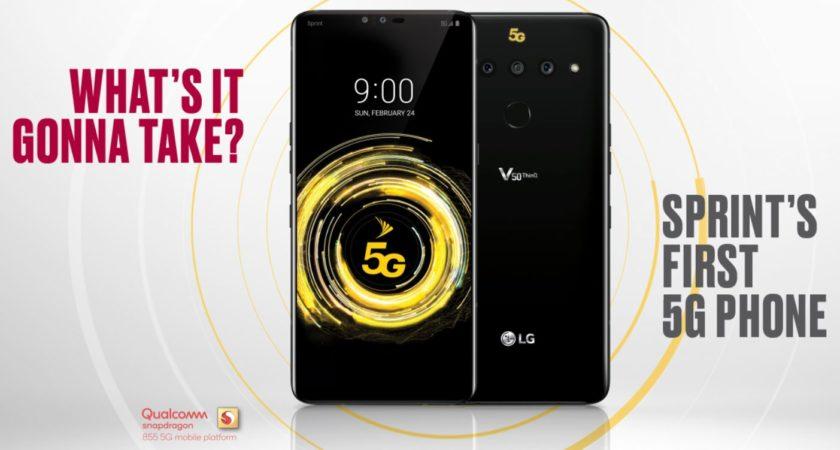 Sprint LG V50 ThinQ 5G