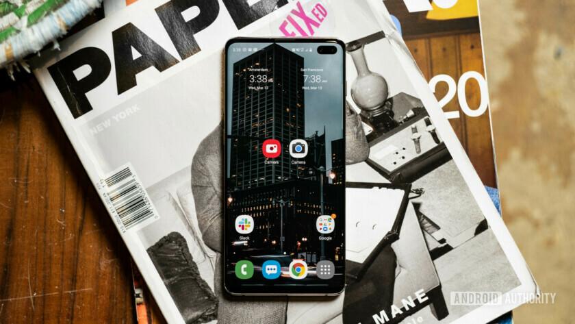 Samsung Galaxy S10 Plus stock camera app vs GCam port