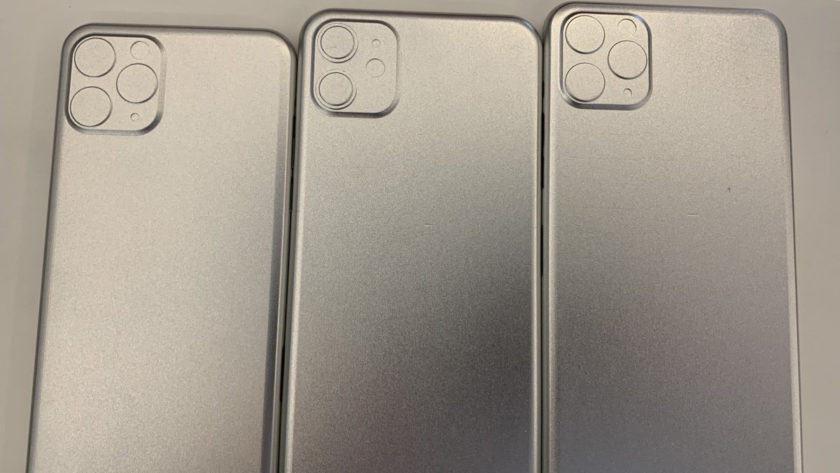 Leaked molds of what the iPhone 11 in 2019 could look like.