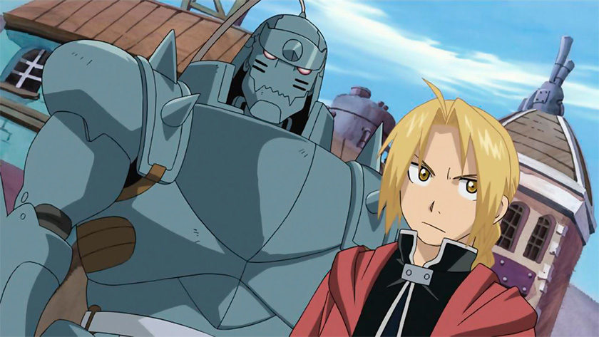 An image of Fullmetal Alchemist, one of the best anime on Netflix