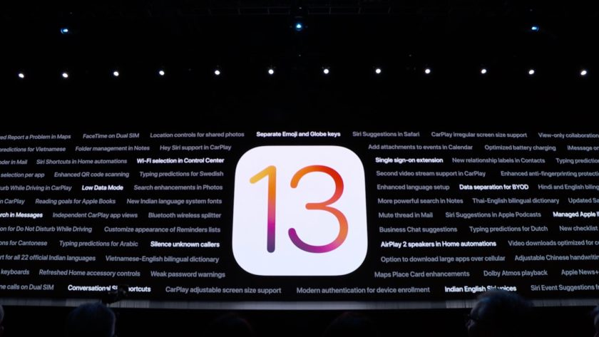 Apple iOS 13 all that is new