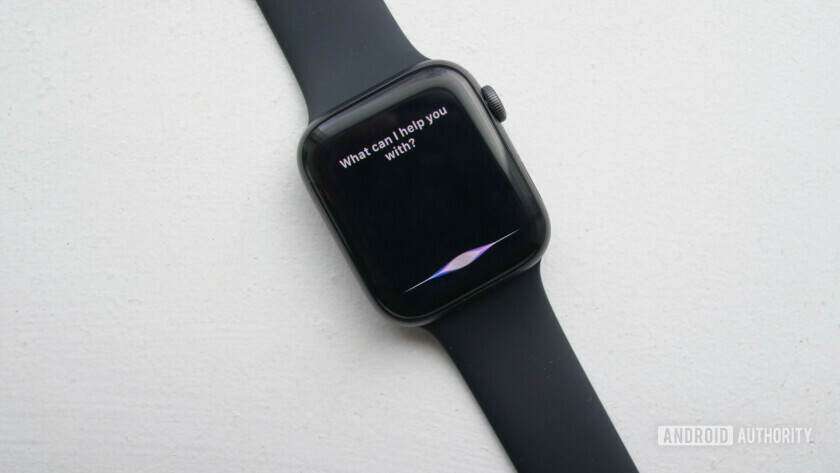 apple watch series 4 siri assistant
