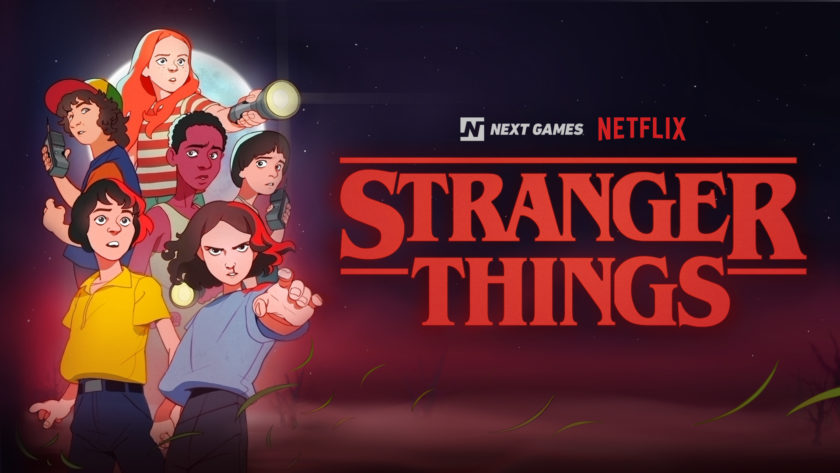 Image of the upcoming Stranger Things mobile RPG.