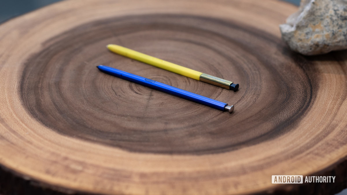 Samsung Galaxy Note 10 Plus S Pen vs Samsung Galaxy Note9 S Pen