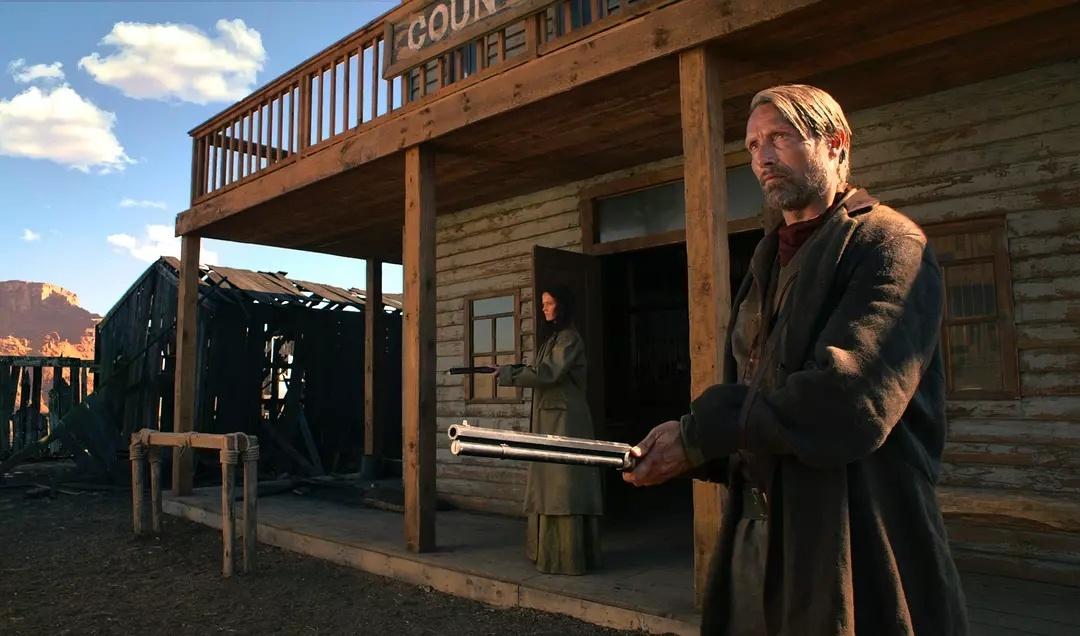 The salvation production still - best westerns on Netflix