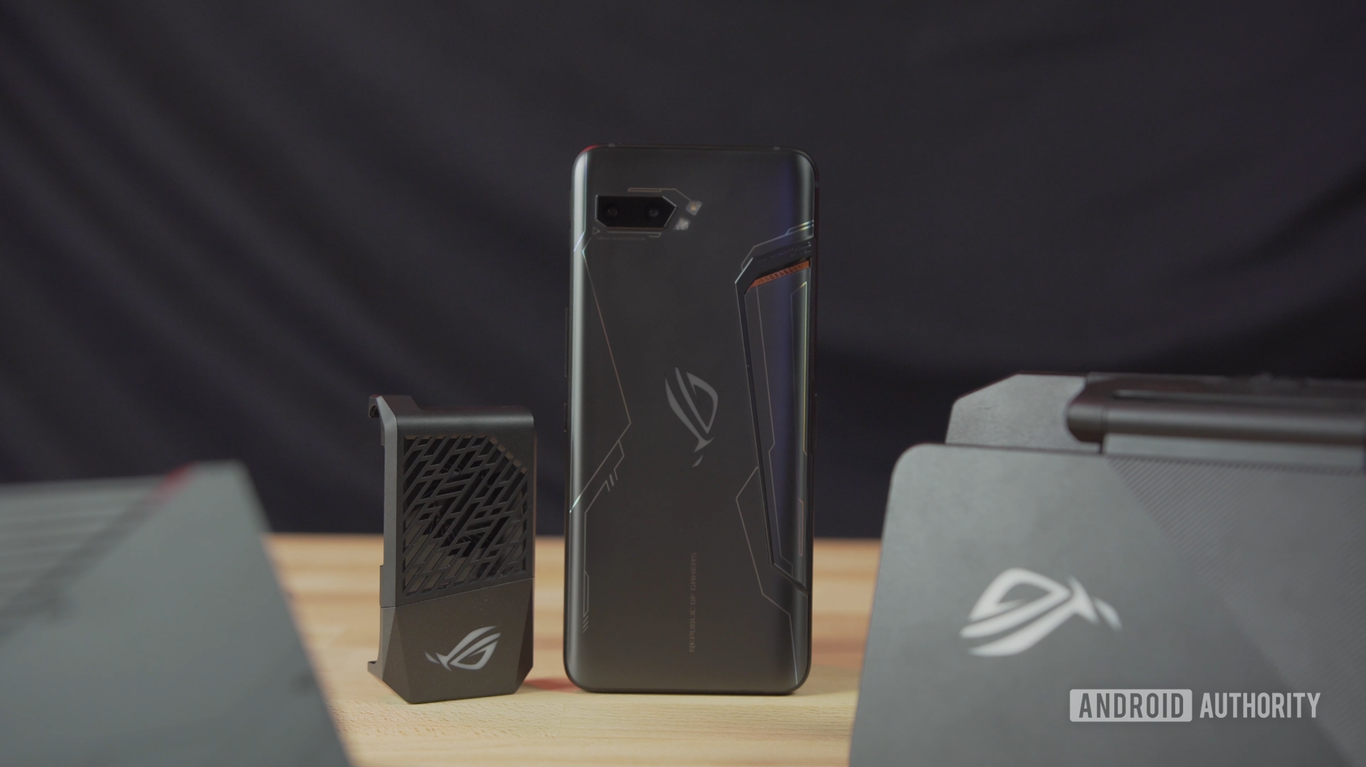 ROG Phone 2 with fan