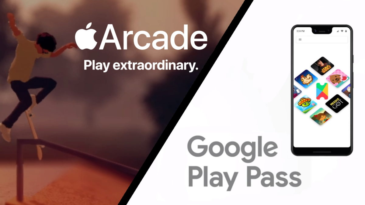 Google Play Pass vs Apple Arcade featured image