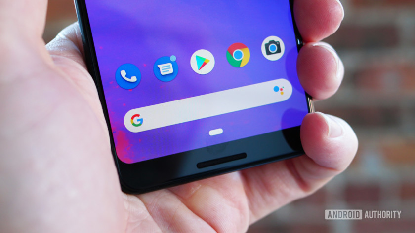 Google Pixel 3 app dock search bar