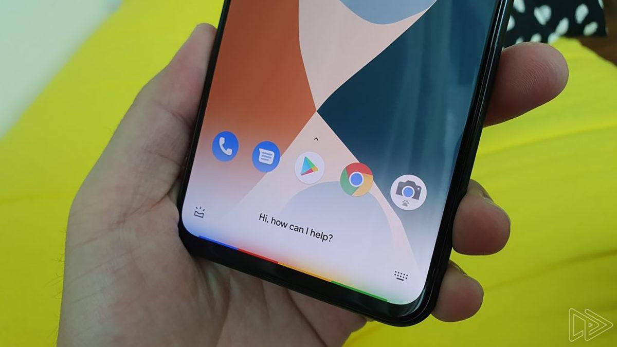 Google Pixel 4 XL running next gen Google Assistant