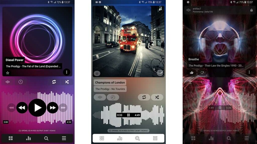 Poweramp - best music player apps for android