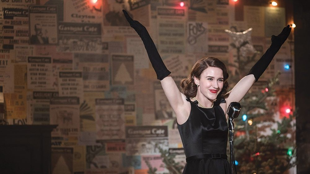 Marvelous Mrs Maisel Comedy show on Amazon Prime Video