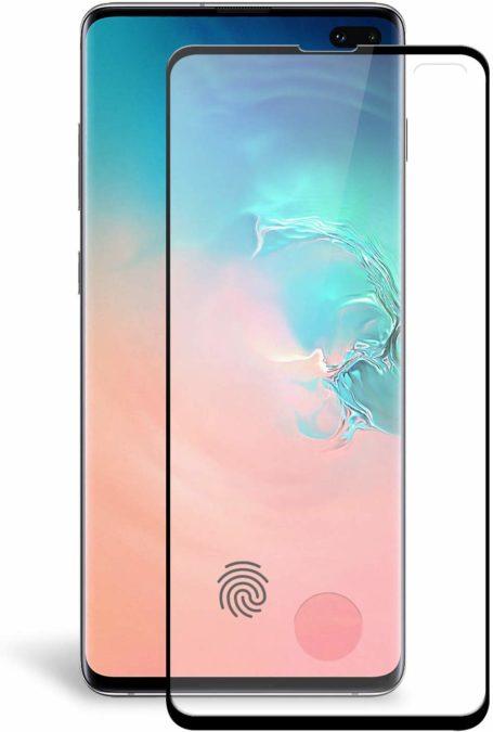 olixar galaxy s10 tempered glass screen protector