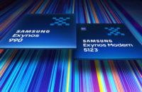 Samsung Exynos 990 Exynos 5123 modem