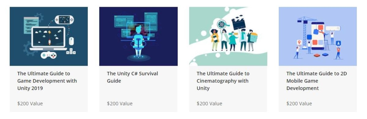 The Official Unity Game Development Bundle