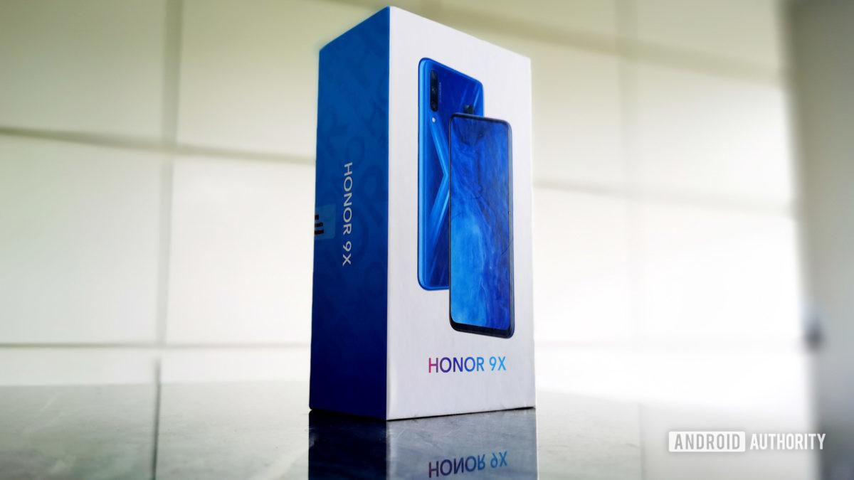 Honor 9X box