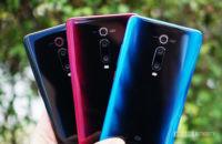 Xiaomi Mi 9T Pro red blue black color comparison