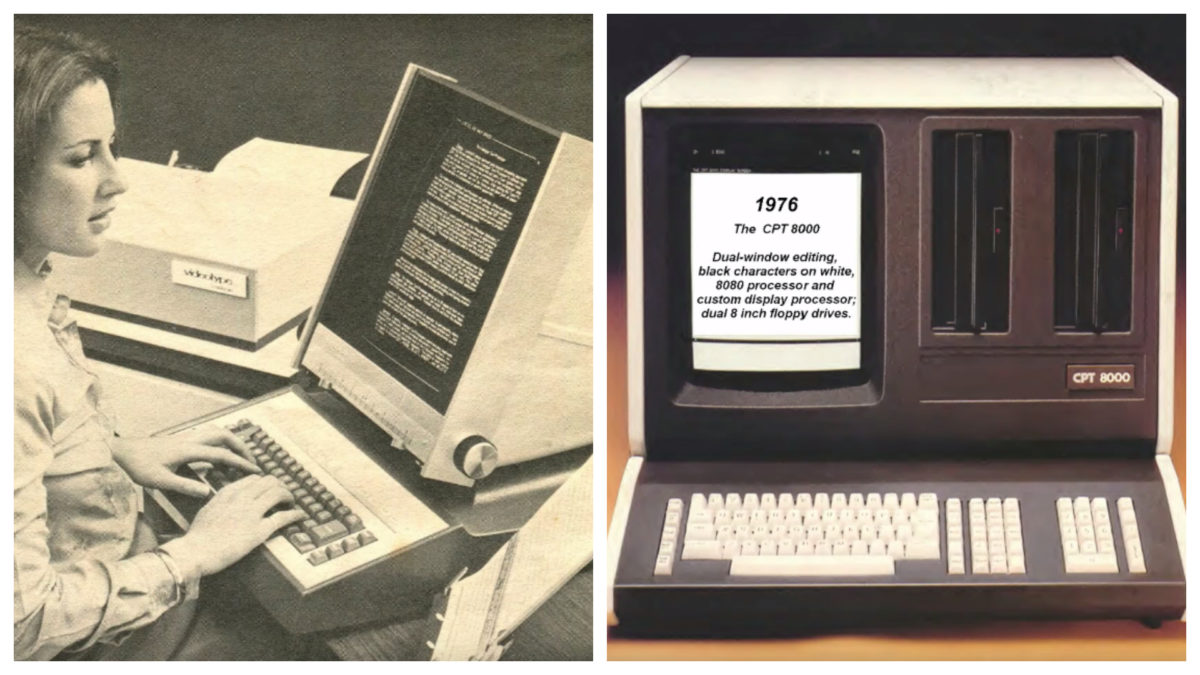 Old Word Processors Computer History Archives Project