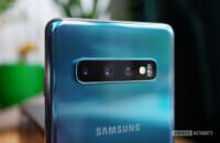 Samsung Galaxy S10 camera detail